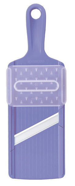 Ceramic Vegetable Slicer with Safety Device Purple CSN-10SPU Kyocera Japan