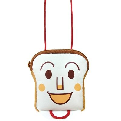 Shokupanman mini Pochette Bag Anpanman Japan Kids ANJ-1001