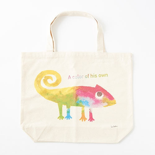 A Color of His Own Chameleon Big Print Tote Bag Leo Lionni Japan