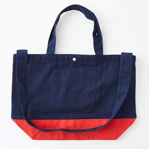 Pickles the Frog Shoulder Bag Navy & Red Japan