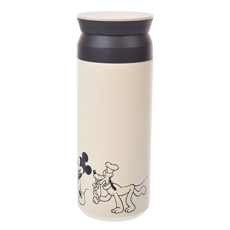 Mickey Minnie Pluto KINTO Stainless Bottle Otona Kitchen Disney Store Japan 500