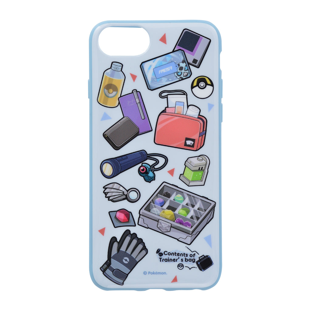 iPhone 7 8 Case Cover Soft Contents of Trainer's bag GR Pokemon Center Japan