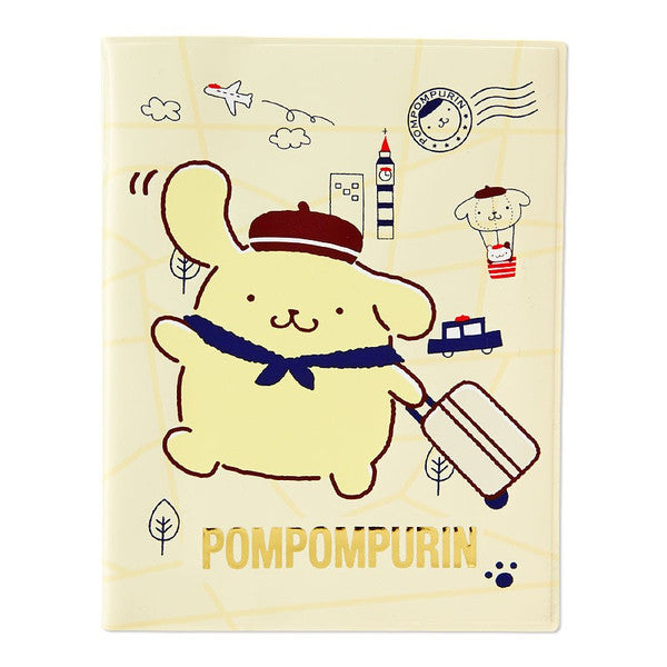 Pom Pom Purin Passport Case Cover Sanrio Japan