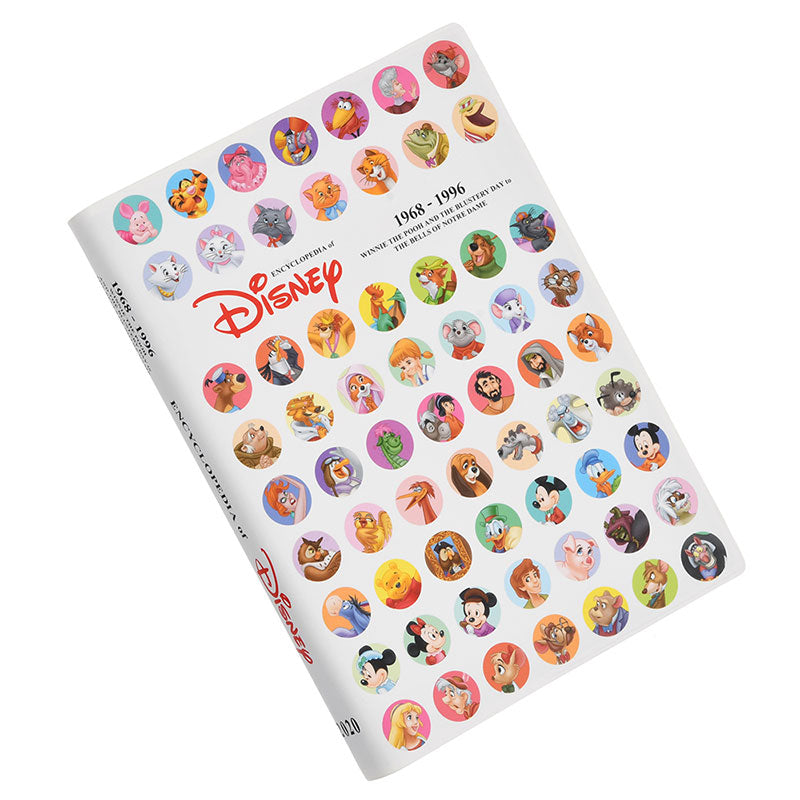 2020 Schedule Book Daily Encyclopedia of Disney 1968-1996 Disney Store Japan