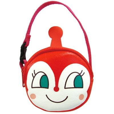 Dokinchan Pouch with Handle Strap Anpanman Japan Kids ANJ-800