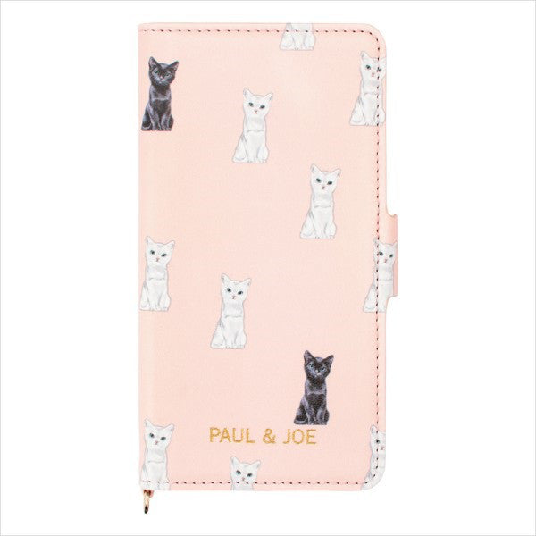 iPhone 6 6s 7 8 Case Cover Chesscat Flip Pink PAUL & JOE Japan