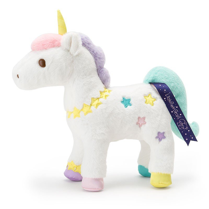 Little Twin Stars Unicorn Plush Doll Shooting Star Dream Sanrio Japan Kiki Lala