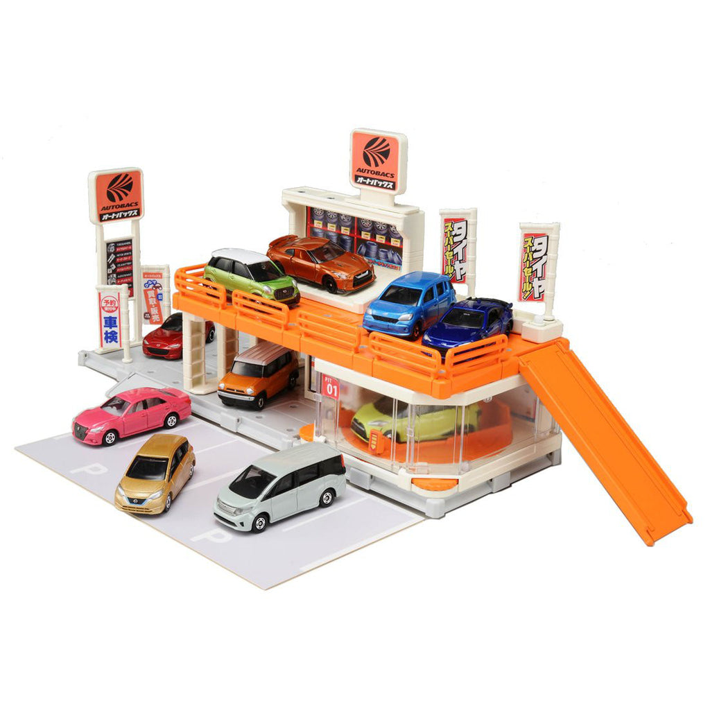 Tomica Town Build City Autobacs Takara Tomy