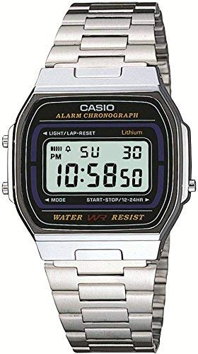 CASIO Standard Digital Watch A164WA-1 Silver Japan