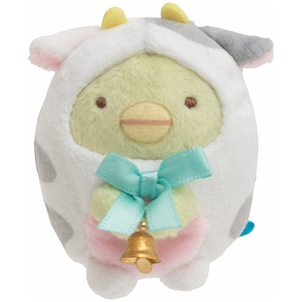 Sumikko Gurashi Penguin ? mini Tenori Plush Doll San-X Japan New Year 2021