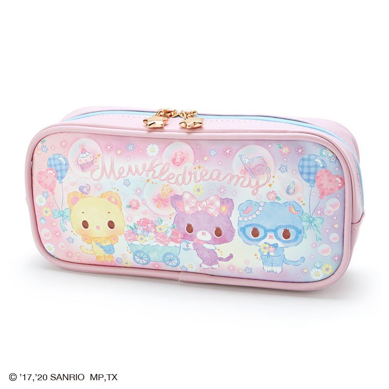 Mewkledreamy Pen Case Pencil Pouch Glitter Soap Bubble Party Sanrio Japan