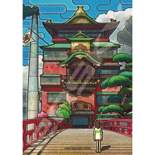 Spirited Away Auraya Jigsaw Puzzle Art crystal Studio Ghibli Japan 208pcs