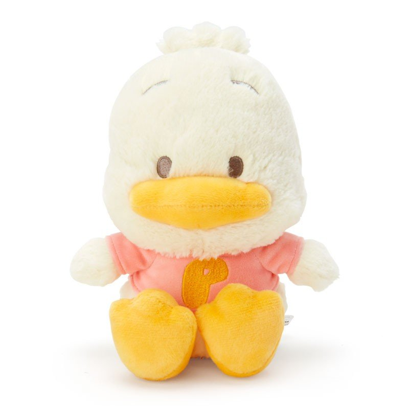 Ahiru no Pekkle Plush Doll Natural Forest Sanrio Japan