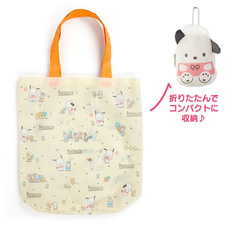 Pochacco Eco Shopping Tote Bag Birthday Sanrio Japan
