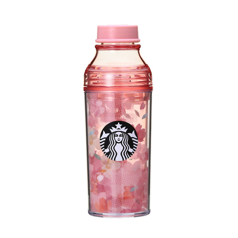 SAKURA 2018 Double Wall Sunny Bottle Tumbler Plaid 473ml Starbucks Japan
