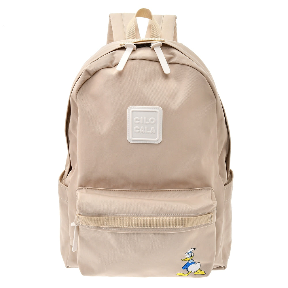 Donald CILOCALA Backpack L Gray Beige Color Your Day Disney Store Japan
