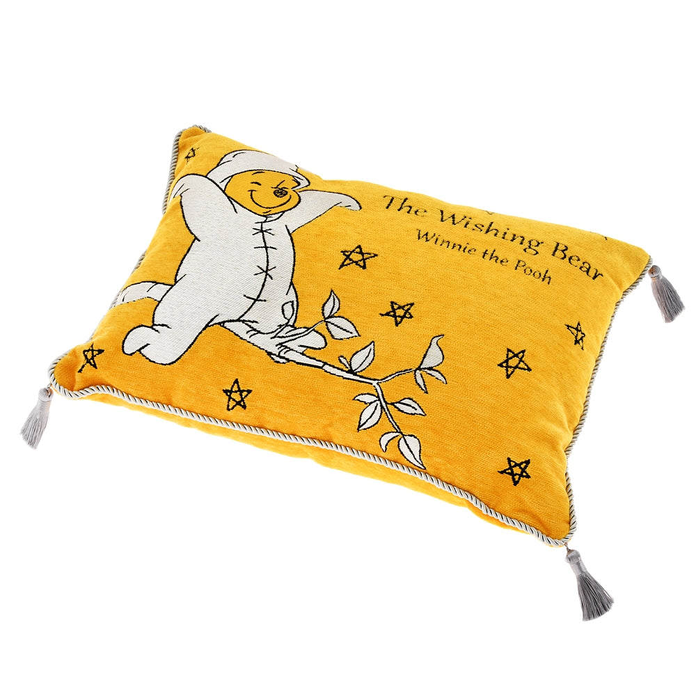 Winnie the Pooh Cushion The Wishing Bear Disney Store Japan