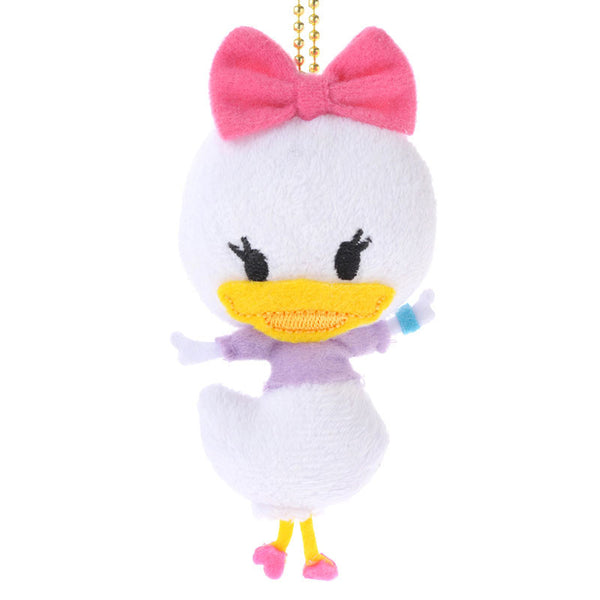 Graffiti Mascot Daisy mini Plush Key Chain Strap Badge Disney Store Japan