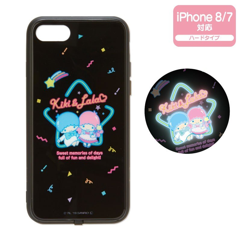 Little Twin Stars Kiki Lala iFlash iPhone 7 8 Case Cover Sanrio Japan