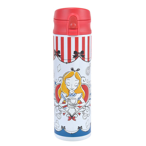 Alice in Wonderland Stainless Bottle Tumbler ALICE PARTY Disney Store Japan
