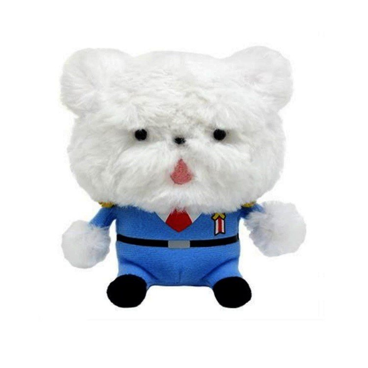 Chief Maltese Plush Doll S Oshiritantei Butt Detective Japan