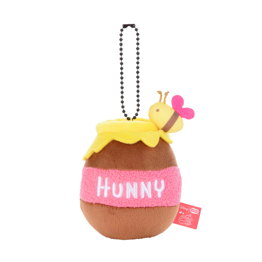 Hunny Pot Plush Keychain HUGYU THE LOVE Mocchi-Mocchi- Disney Winnie Japan