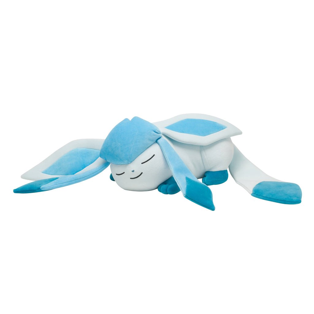Glaceon Glacia Plush Doll Suyasuya Sleeping Pokemon Center Japan