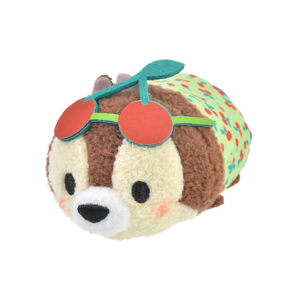 Chip Tsum Tsum Plush Doll mini S Cherry Disney Store Japan