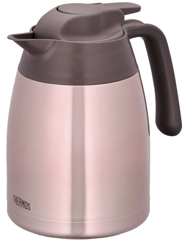Thermos Stainless Pot 1L Cacao THV-1001 CAC Japan