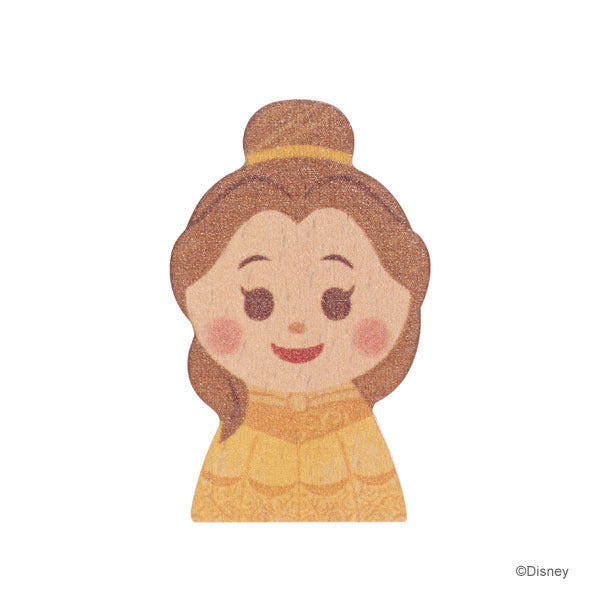 Belle KIDEA Toy Wooden Blocks Disney Store Japan Beauty and the Beast