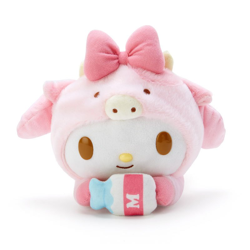 My Melody Plush Doll Zodiac Cow Sanrio Japan New Year 2021