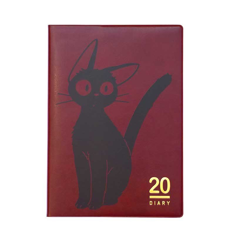 Kiki's Delivery Service Jiji 2020 Schedule Book A5 Monthly Studio Ghibli Japan