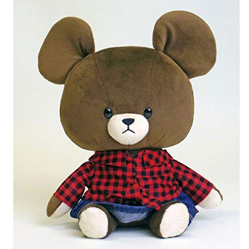 Jackie Plush Doll Buffalo Plaid the bears' school EDWIN Japan