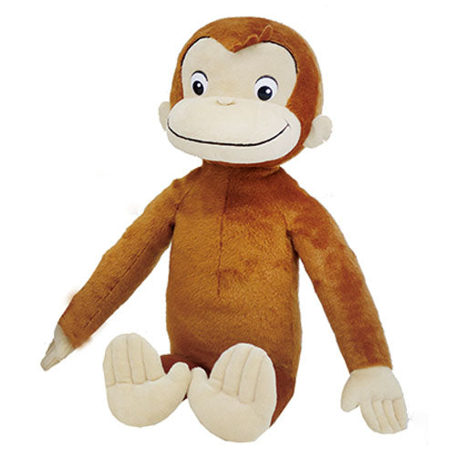 Curious George Plush Doll L Japan K-6678