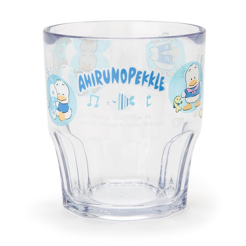 Ahiru no Pekkle Plastic Cup Good Friends Sanrio Japan