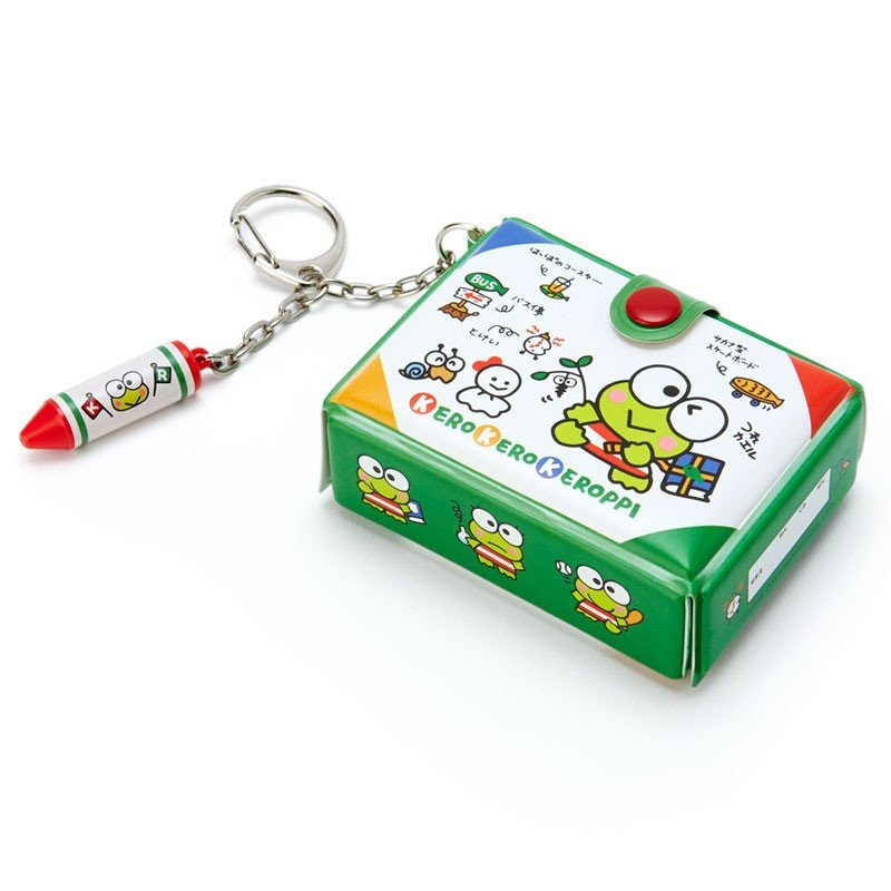 Kero Kero Keroppi Frog Keychain Key Holder Tool Box shape Sanrio Japan