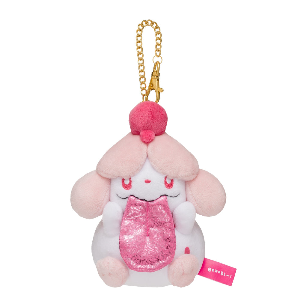 Slurpuff Peroream Plush Keychain BEROBE~! Pokemon Center Japan