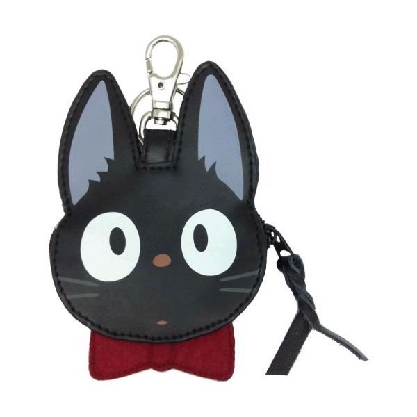 Kiki's Delivery Service Jiji Pouch Die-Cut Studio Ghibli Japan Cat