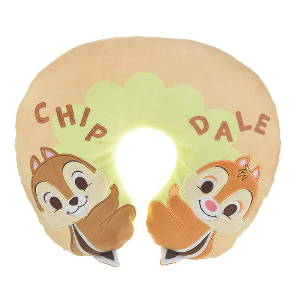 Chip & Dale Neck Pillow Friend Disney Store Japan