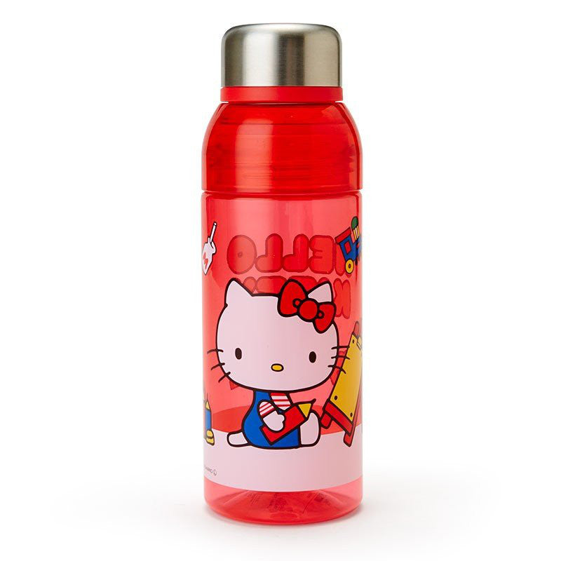 Hello Kitty Plastic Bottle Tumbler 480ml Sanrio Japan