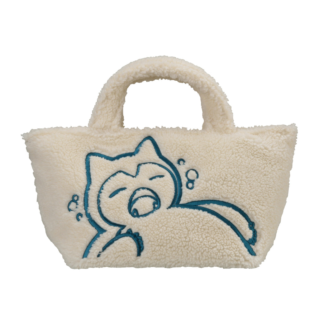 Snorlax Yawn Kabigon mini Tote Bag Pokemon Center Japan Original