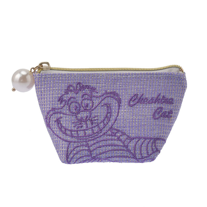Cheshire Cat Hemp style Pouch S One Color Disney Store Japan Alice in Wonderland