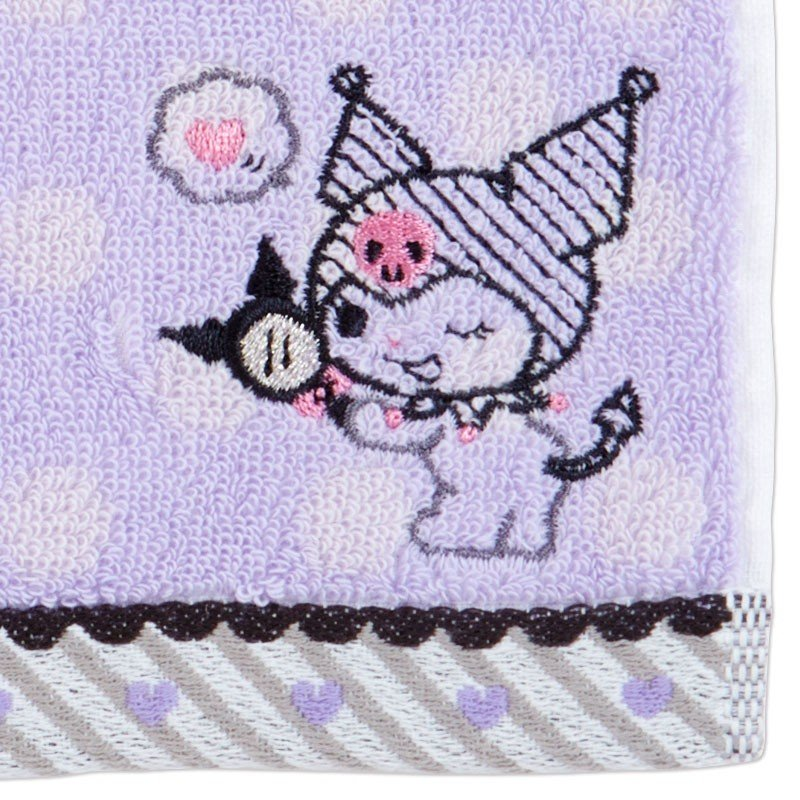 Kuromi mini Towel Dot Sanrio Japan
