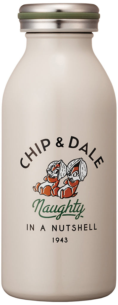 Chip & Dale Stainless Screw Mug Bottle 0.35L mosh! Disney Japan