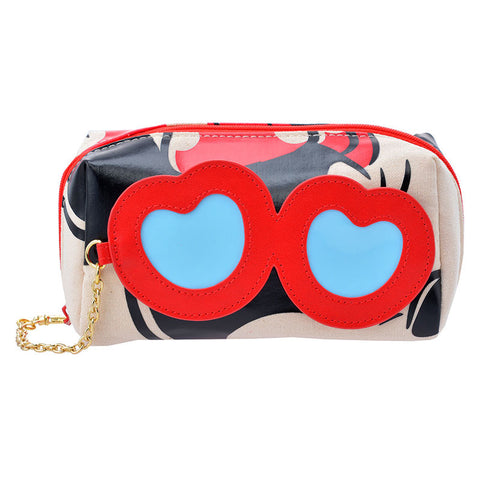 Canvas Pouch Glasses Minnie Mouse Disney Store Japan