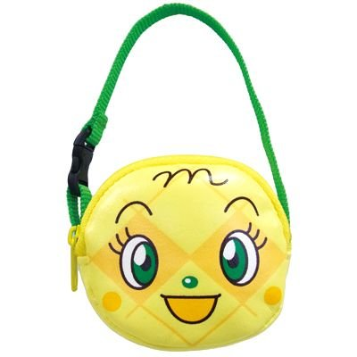 Melon panna Pouch with Handle Strap Anpanman Japan Kids ANJ-800
