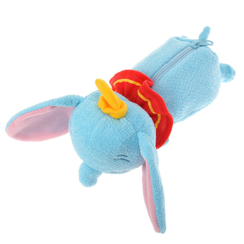 Dumbo sleeping Colo Pencil Case Pouch blue Gift Disney Japan