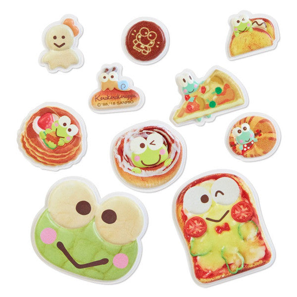 Kero Kero Keroppi Frog Soft Sticker 20pcs Bakery Sanrio Japan