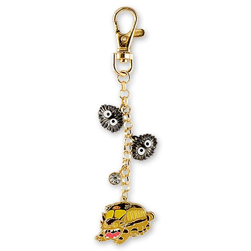 My Neighbor Totoro Neko Cat Bus Metal Charm Studio Ghibli Japan