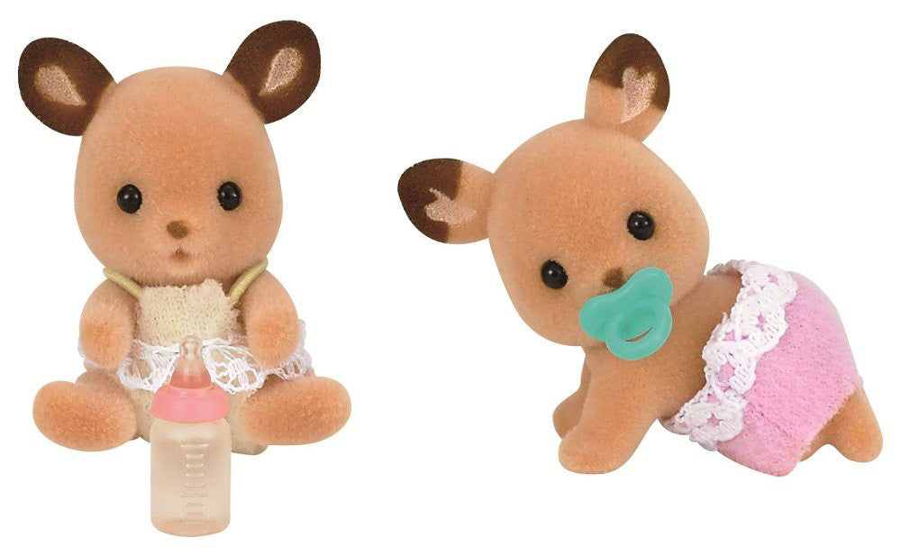 Deer Baby Twins Doll Shi-67 Sylvanian Families Japan Calico Critters